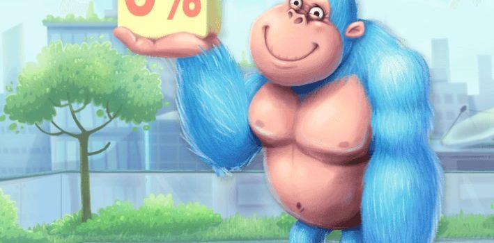 Первый займ под 0 процентов для клиентов МФК «Konga»
